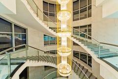 Escaleras de lujo Imagen de archivo libre de regalías