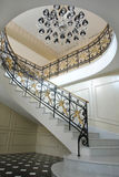 Escaleras de mármol Imagenes de archivo