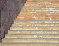 Escaleras de mármol en el muelle Foto de archivo