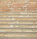 Escaleras de mármol en el muelle Imagen de archivo