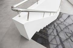 Escaleras de mármol negras Fotografía de archivo