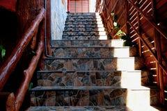 Escaleras de m?rmol fotos de archivo
