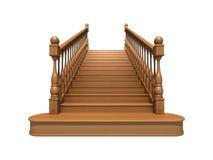 Escaleras de madera Libre Illustration