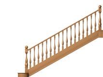 Escaleras de madera Ilustración del Vector
