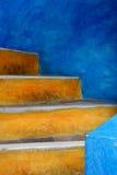 Escaleras de Oia Foto de archivo