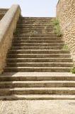 Escaleras de piedra en Antequera Imagen de archivo