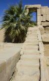 Escaleras de piedra en Luxor Fotos de archivo