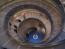 Escaleras de Vatican imagen de archivo