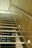 Escaleras del ático foto de archivo libre de regalías
