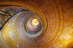 Escaleras del berberecho Fotos de archivo libres de regalías