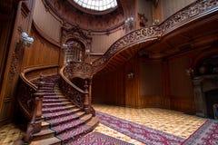 Escaleras del casino fotos de archivo
