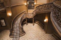 Escaleras del casino Fotografía de archivo libre de regalías