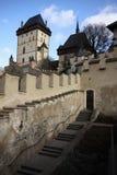 Escaleras del castillo Foto de archivo