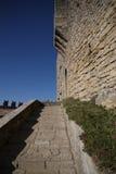 Escaleras del castillo Fotografía de archivo
