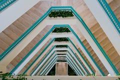 Escaleras del centro turístico Fotos de archivo libres de regalías