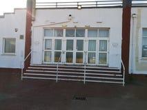 Escaleras del club nocturno de la playa de Gorleston foto de archivo libre de regalías