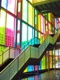 Escaleras del congreso en Montreal Fotos de archivo libres de regalías