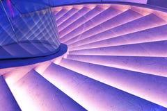 Escaleras del edificio de oficinas de Œmodern de la plaza del pasillo del ¼ moderno del ï, pasillo moderno del edificio del negoc Imagen de archivo libre de regalías