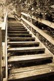 Escaleras del embarcadero Fotografía de archivo