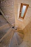 Escaleras del faro Imagen de archivo