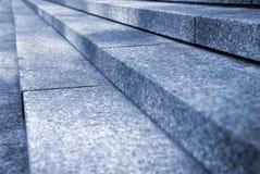 Escaleras del granito Imagen de archivo