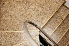 Escaleras del granito Foto de archivo libre de regalías