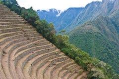 Escaleras del inca Fotos de archivo libres de regalías