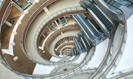 Escaleras del infinito. Imágenes de archivo libres de regalías