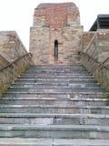 Escaleras del ladrillo Imágenes de archivo libres de regalías