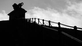 Escaleras del león de Waterloo fotos de archivo libres de regalías