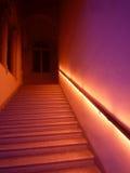 Escaleras del misterio fotografía de archivo libre de regalías