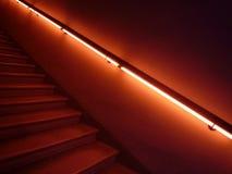 Escaleras del misterio Imágenes de archivo libres de regalías