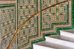 Escaleras del mosaico fotografía de archivo libre de regalías