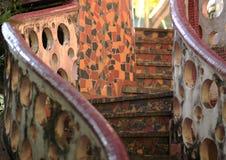 Escaleras del mosaico Fotos de archivo libres de regalías