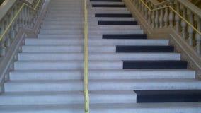 Escaleras del piano Fotos de archivo libres de regalías