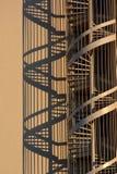Escaleras del sacacorchos fotos de archivo
