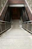 Escaleras del subterráneo Foto de archivo libre de regalías