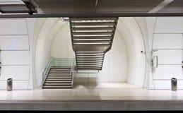 Escaleras del subterráneo Foto de archivo