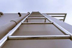 Escaleras del tejado Imagen de archivo