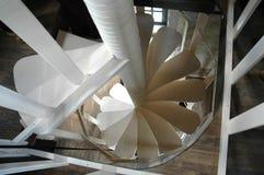 Escaleras del tornillo Imagen de archivo