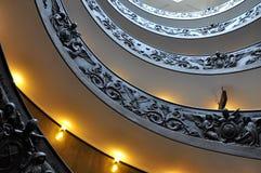 Escaleras del Vaticano Fotos de archivo libres de regalías