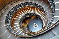 Escaleras del Vaticano Foto de archivo libre de regalías