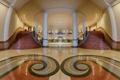 Escaleras duales Imagen de archivo