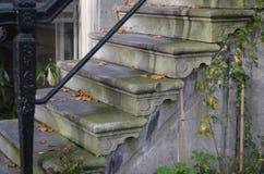 Escaleras en Amsterdam foto de archivo libre de regalías