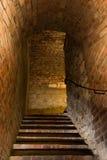 Escaleras en ciudadela medieval Fotografía de archivo libre de regalías