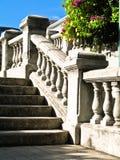 Escaleras en el camino del bahama Foto de archivo
