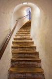 Escaleras en el castillo Kufstein - Austria Imagenes de archivo