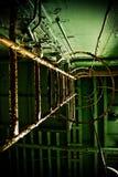 Escaleras en el desconocido Foto de archivo libre de regalías