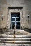 Escaleras en el Dr. Museo de Seuss en Springfield Massachusetts imágenes de archivo libres de regalías