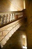 Escaleras en el palacio de Carlos 5 Foto de archivo libre de regalías